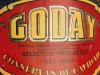 Etiqueta de latas de Goday