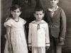 Abuela María, Manola, Pepe y Cándido.
