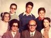 Manola y familia.