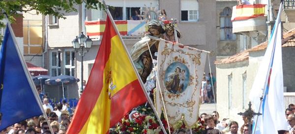 Procesion de la Virgen del Carmen 2012 en A Illa de Arousa