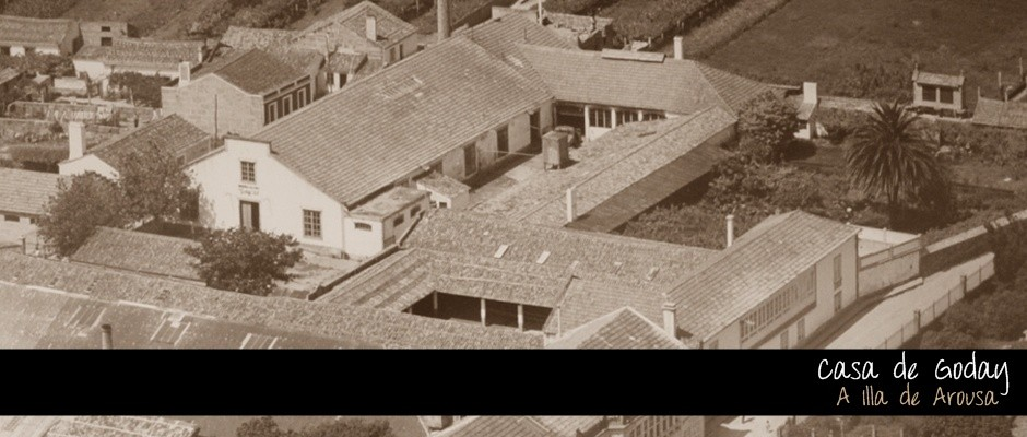 Casa de Goday en A Illa de Arousa