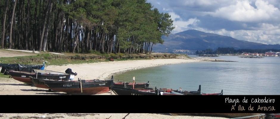 Playa de Cabodeiro - A Illa de Arousa
