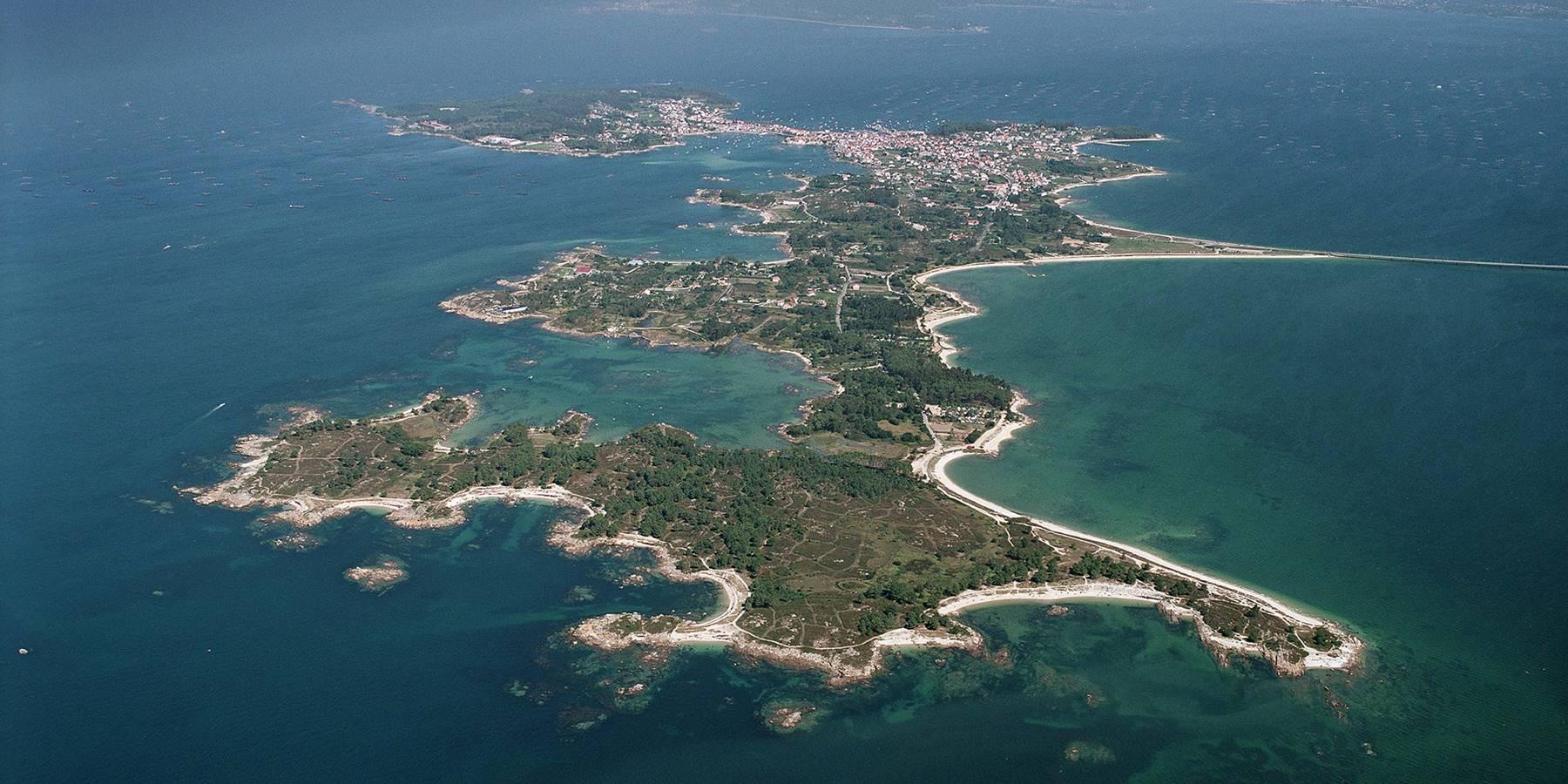 A Illa de Arousa, Luftbild