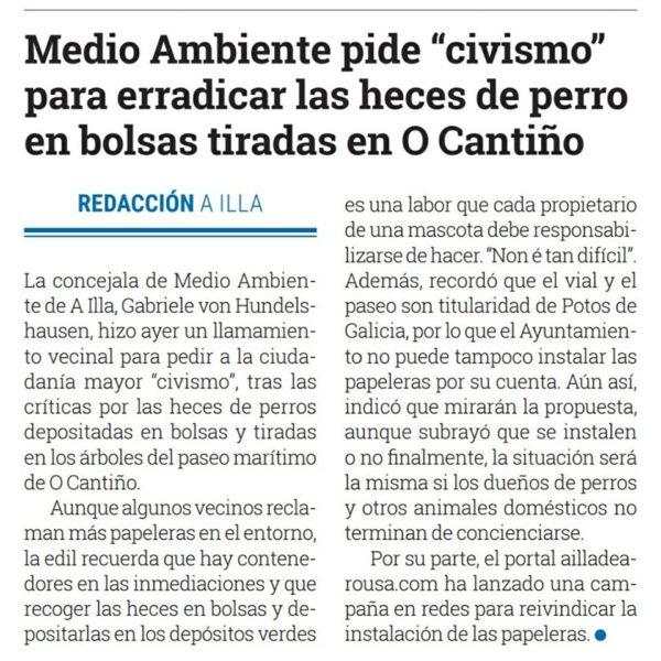 Concello pide Civismo